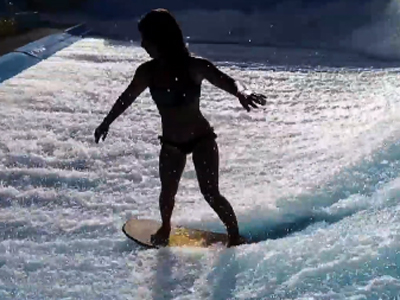 Making waves: Surfers cash in on man-made parks