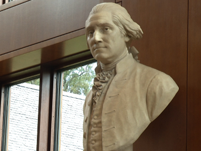 Long overdue: George Washington gets library