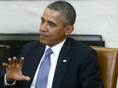 Obama: 'Not at all' resigned to a shutdown
