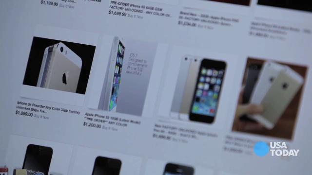 TECH NOW: Gold iPhone a hot commodity on eBay