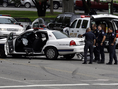 Witnesses describe Capitol Hill scare
