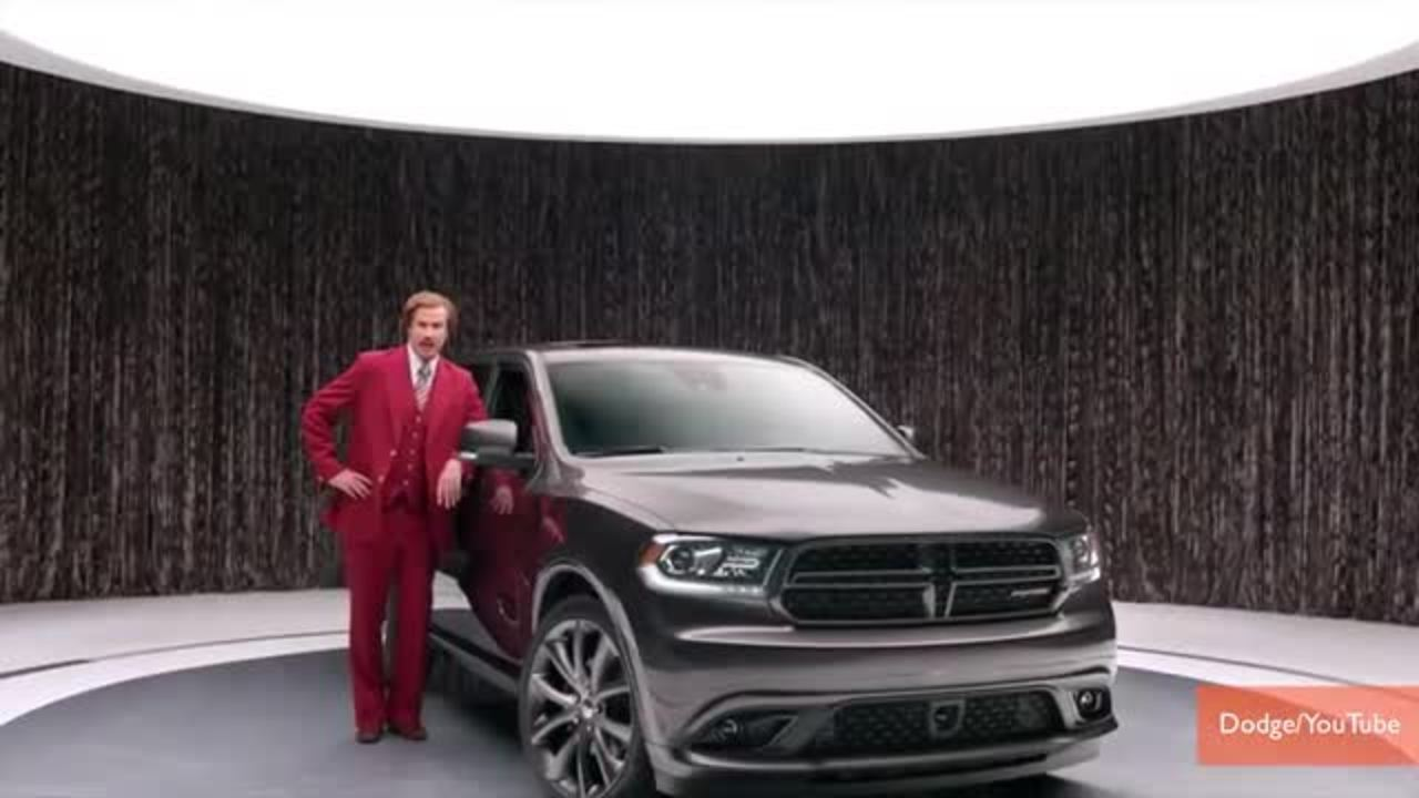 'Anchorman' Ron Burgundy is new Dodge spokesman