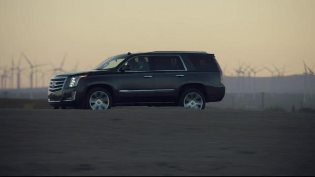 Video of the redesigned 2015 Cadillac Escalade