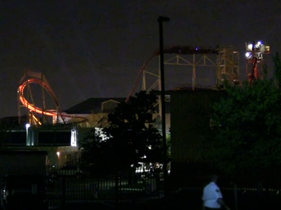 A Dozen Riders Rescued From Stuck Roller Coaster