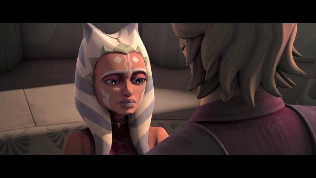 Ahsoka gives Jedi a piece of her mind in 'Clone Wars'