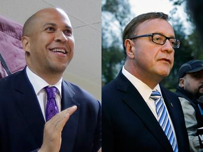 Candidates vote in N.J. special Senate election