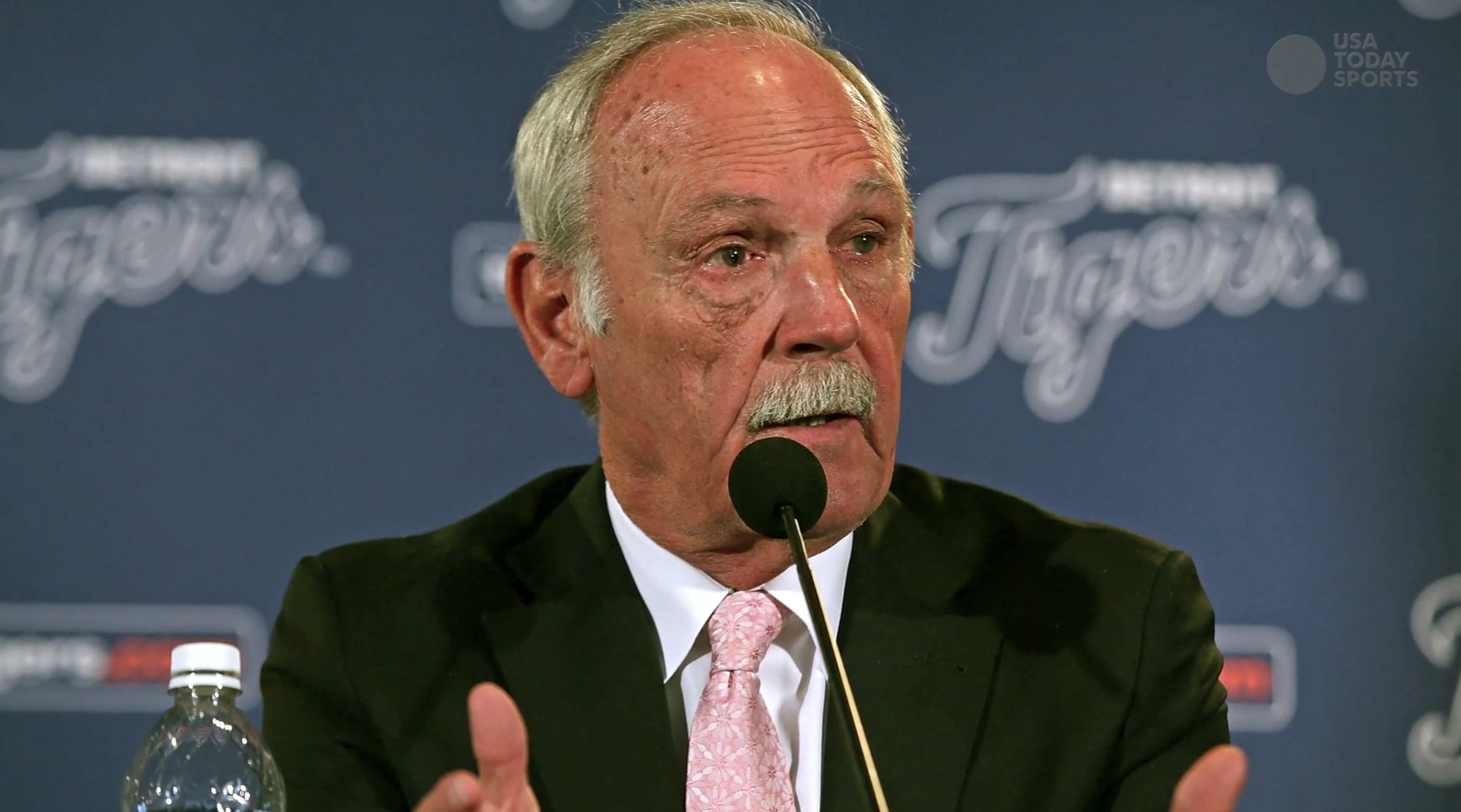 Tigers manager Jim Leyland stepping down