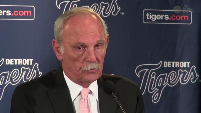 Detroit Tigers Press Conference