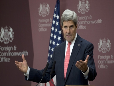 Kerry: Syrian opposition weighing talks