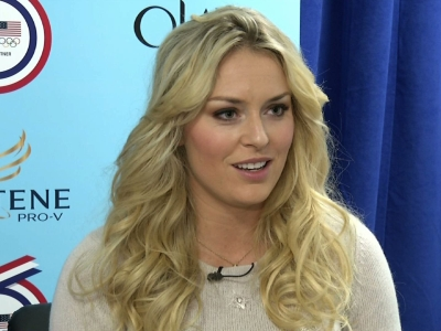 Lindsey Vonn: Tiger helped me through injury