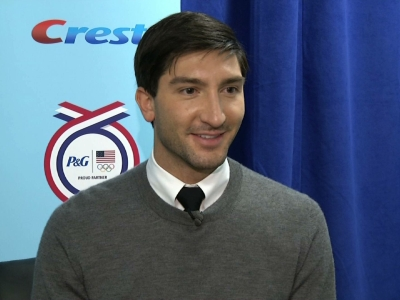 Evan Lysacek back to defend Olympic title