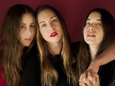Haim - a percussive sisterly trio