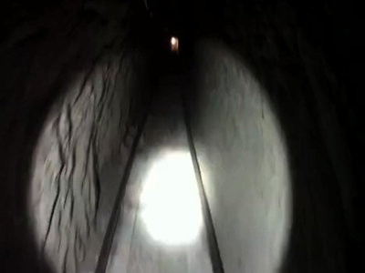 U.S.-Mexico drug tunnel with rail system found