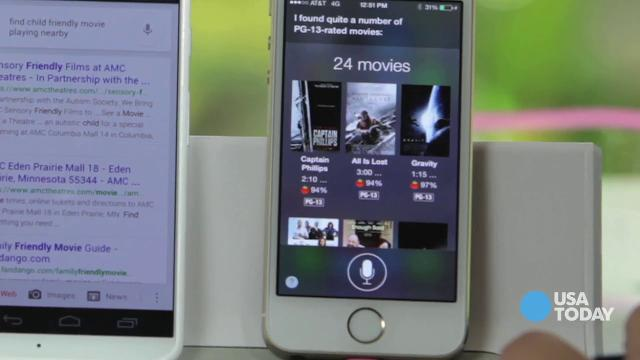 TECH NOW: How Android and Apple stack up on voice commands