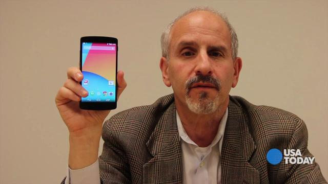 Baig: Hands on with the Nexus 5 smartphone