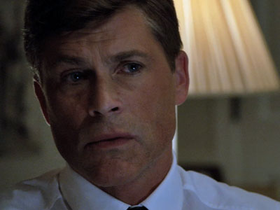 """Rob Lowe relishes """"Kennedy"""" role"""