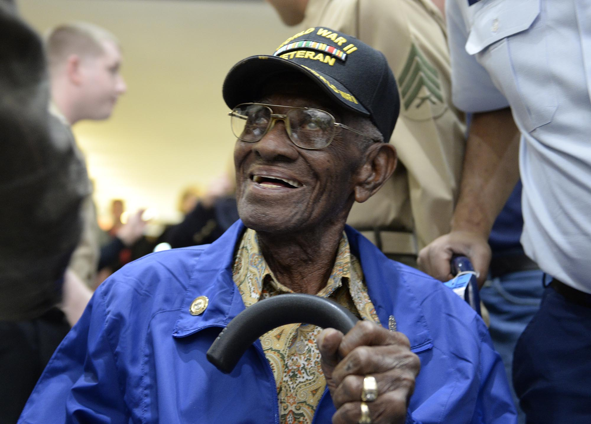 107-year-old WWII vet to meet President Obama