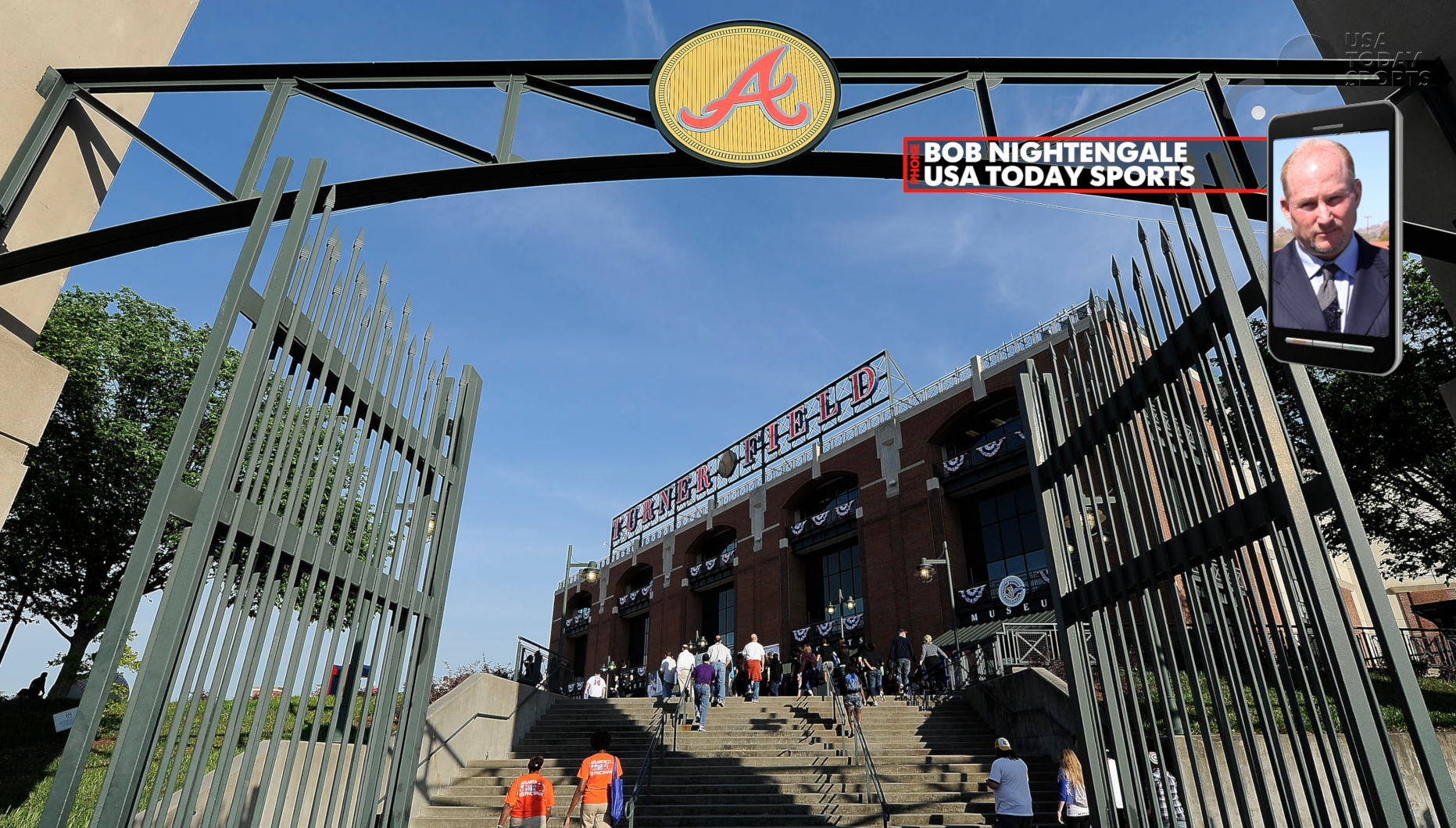 The Atlanta Braves on the move