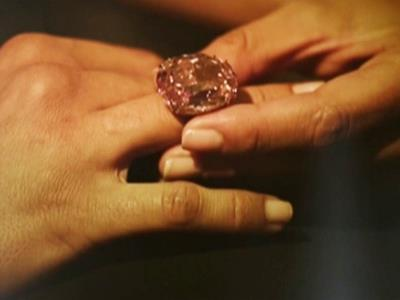 Giant pink diamond auctioned for $83 million