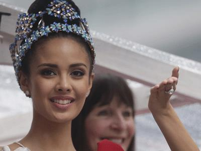 Miss World on the devastation in the Philippines