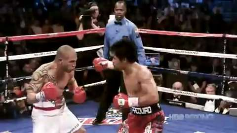 Boxer Manny Pacquiao's greatest hits