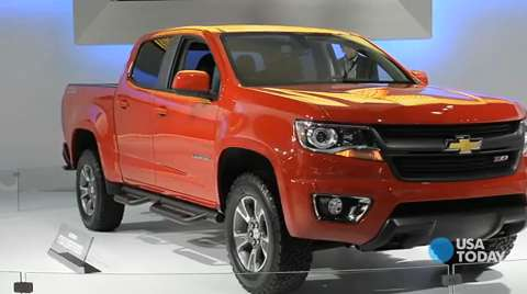 chevy reenters the midsize truck market. Black Bedroom Furniture Sets. Home Design Ideas