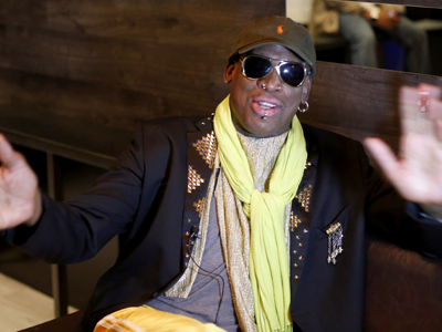 Rodman: 'Now people are taking me serious'