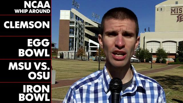 NCAA Whip Around: Week 13