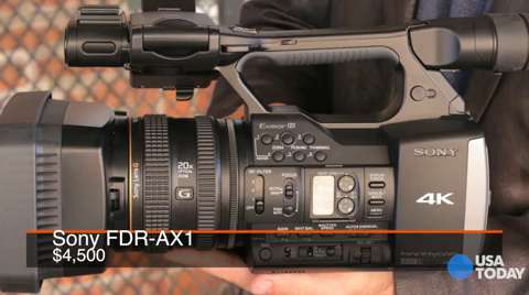 Talking Tech | Sneak peek at Sony 4K camcorder