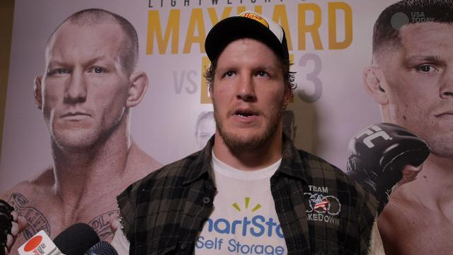TUF 18  Finale Jared Rosholt post-fight interview