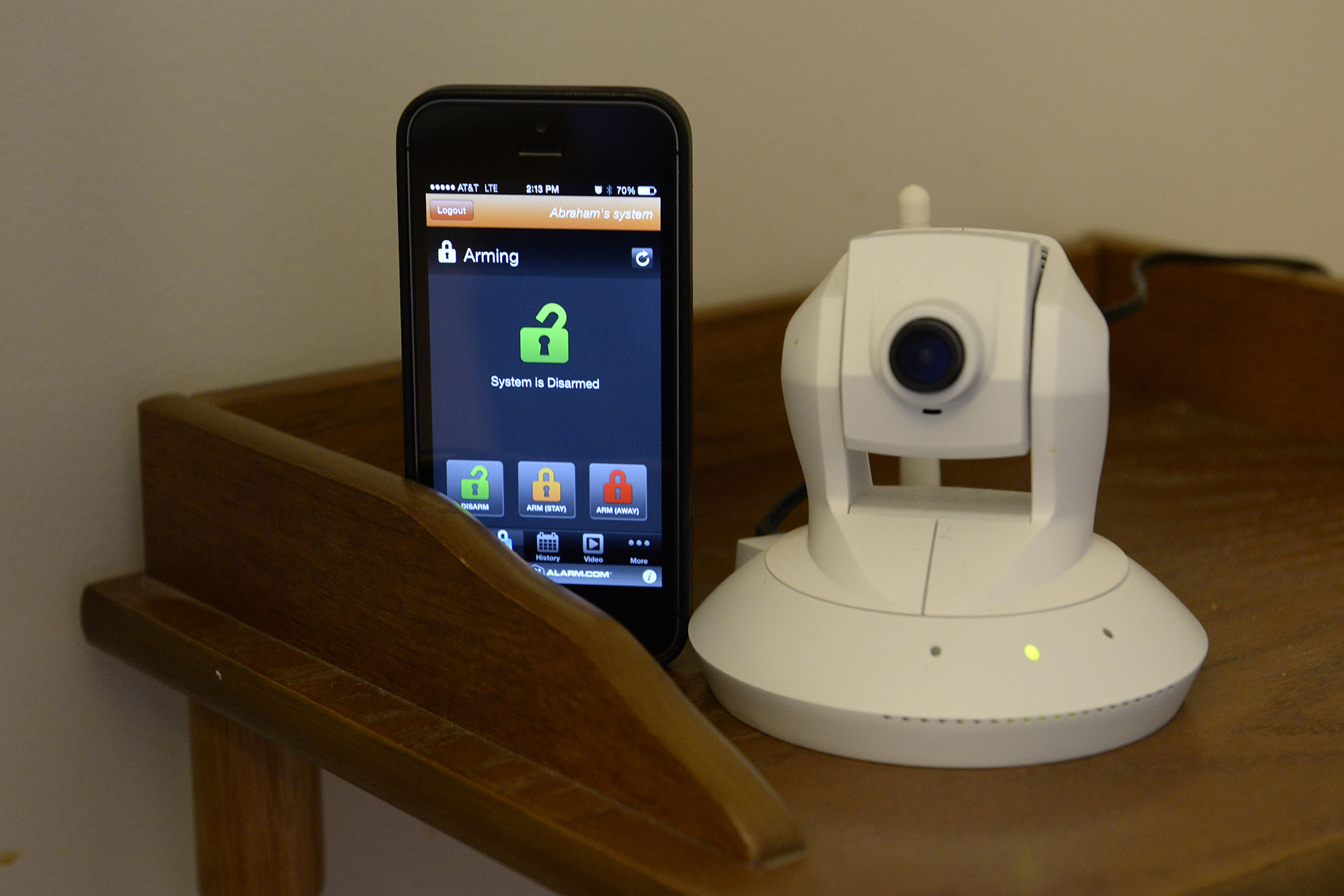 Smart Homes:  Security systems control more than alarms