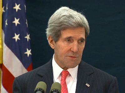 Kerry refuses comment on Levinson's CIA ties