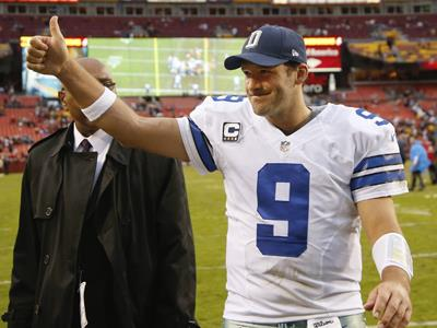 Garrett: Romo not ruled out for Philly game