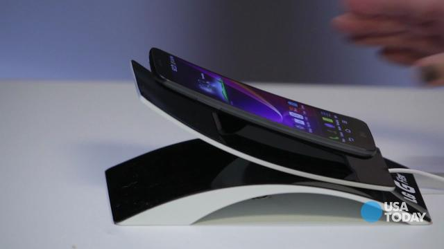 CES 2014:  Hands on with the LG G Flex