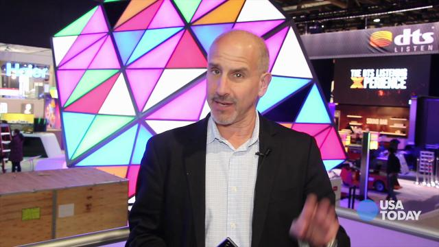 CES 2014: Ed Baig with the Xperia Z1S