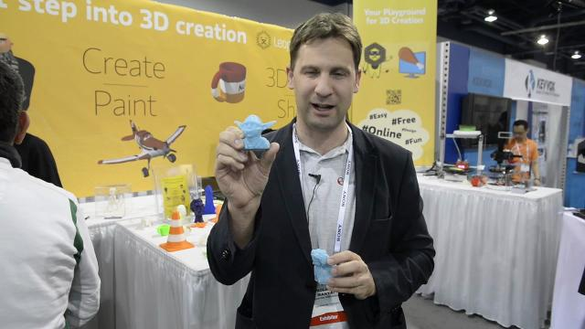 3D printing takes off at CES