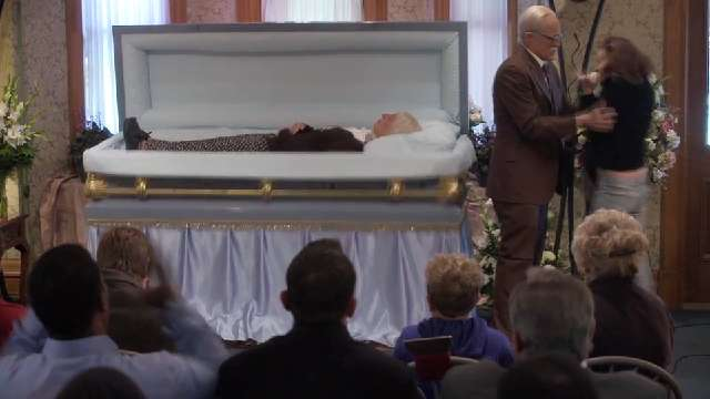 Exclusive clip: Behind the scenes of 'Bad Grandpa' funeral