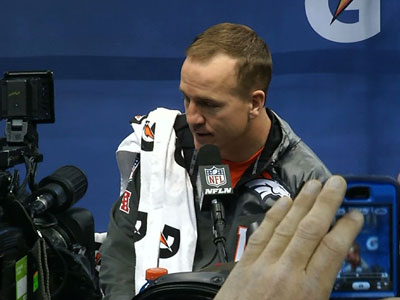 Sherman, Manning take center stage at Media Day