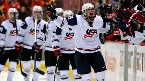 Amanda Kessel good to go for first Olympic game