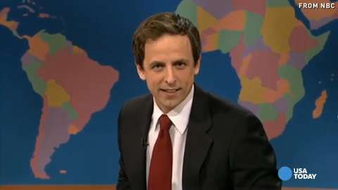 Seth Meyers, we're 'Really!?' gonna miss you on SN...