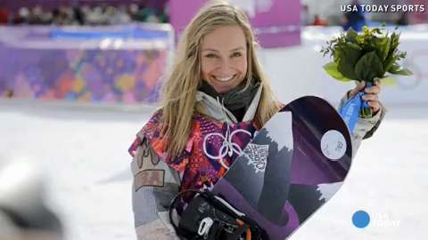 Jamie Anderson wins women's slopestyle gold