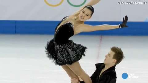 U.S. claims 2nd gold, Russia wins team figure skating