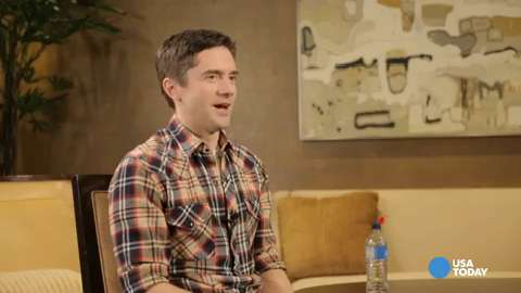 Topher Grace shuns social media for new website