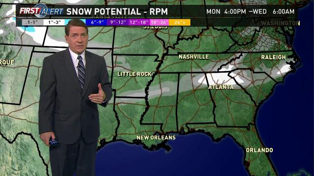Snow, sleet, freezing rain forecasted for southern...