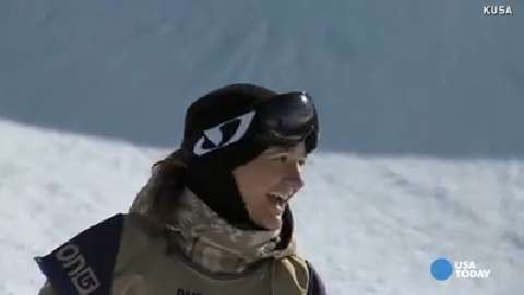 Three time Olympian Kelly Clark keeps progressing