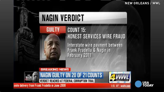 Ex-New Orleans Mayor Ray Nagin guilty of lies, bri...