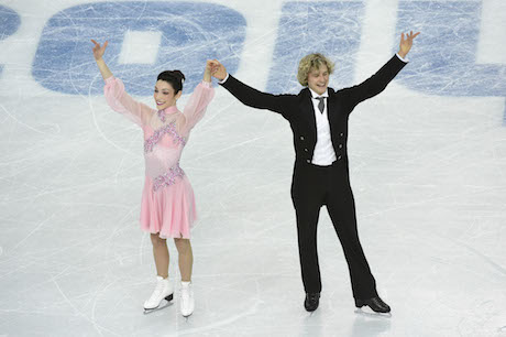 USA looks for first-ever ice dancing gold at Sochi...