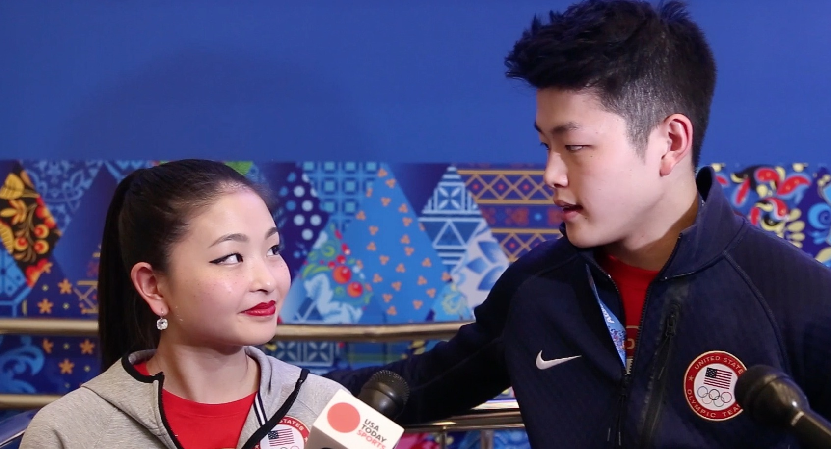 Ice dancing Interview: Maia and Alex Shibutani