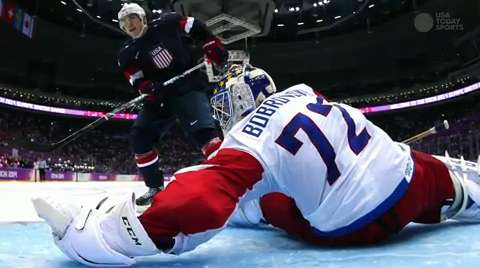 Olympic Hockey Daily Wrap: USA victorious over Rus...