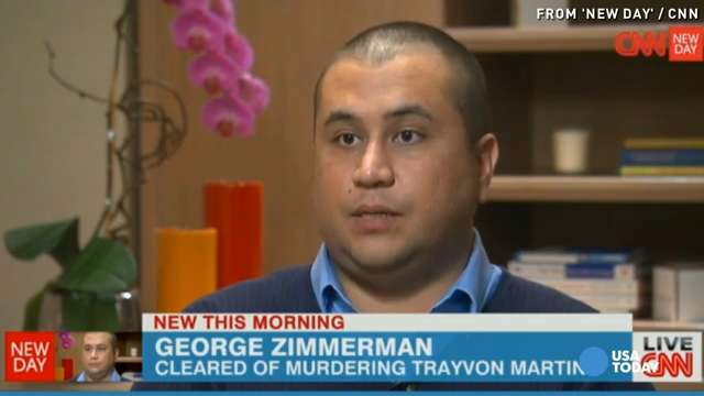 George Zimmerman: I was a victim